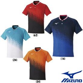 送料無料◆2020年6月発売◆MIZUNO ユニセックス ゲームシャツ 62JA0501 テニス バドミントン ウェア ミズノ