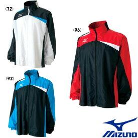 送料無料◆在庫処分◆MIZUNO ウィンドブレーカーシャツ(裏メッシュ) 62ME5506 ミズノ テニス バドミントン ウェア