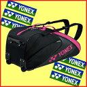 送料無料◆YONEX◆2017年2月下旬発売◆ラケットバッグ(キャスター付)〈テニス6本用〉BAG1732C バッグ ヨネックス