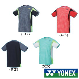 5%OFFクーポン対象◆送料無料◆YONEX◆2020年1月下旬発売◆ユニセックス ゲームシャツ(フィットスタイル) 10356 ヨネックス テニス バドミントン ウェア