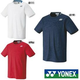 送料無料◆YONEX◆2021年3月上旬発売◆ユニセックス ゲームシャツ(フィットスタイル) 10409 ヨネックス テニス バドミントン ウェア