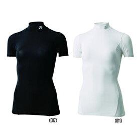送料無料◆YONEX◆レディース ハイネック半袖シャツ STB-F1503 テニス バドミントン アンダーウェア ヨネックス