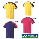 送料無料◆YONEX◆2018年9月下旬発売◆ユニセックス ゲームシャツ(フィットスタイル) 10271 ヨネックス テニス …