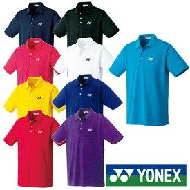 5%OFFクーポン対象◆送料無料◆YONEX◆新色◆2019年1月下旬発売◆ユニセックス ポロシャツ(スタンダードサイズ) 10300 テニス バドミントン ウェア ヨネックス