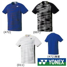 送料無料◆YONEX◆2019年1月下旬発売◆ユニセックス ゲームシャツ(フィットスタイル) 10301 テニス バドミントン ウェア ヨネックス