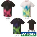 送料無料◆YONEX◆2019年3月上旬発売◆ユニセックス ゲームシャツ(フィットスタイル) 10321 テニス バドミントン…