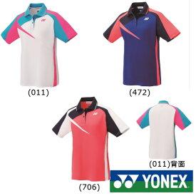 マラソンクーポン対象◆送料無料◆YONEX◆2019年3月上旬発売◆ウィメンズ ゲームシャツ 20495 テニス バドミントン ウェア ヨネックス