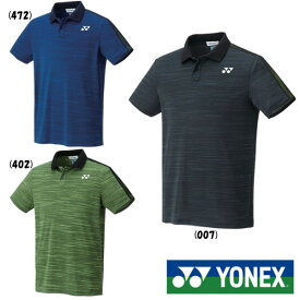 10%OFFクーポン対象◆送料無料◆YONEX◆2019年9月下旬発売 ユニセックス ゲームシャツ(フィットスタイル) 10319 ヨネックス テニス バドミントン ウェア