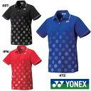 送料無料◆YONEX◆2019年9月下旬発売 ウィメンズ ゲームシャツ 20501 ヨネックス テニス バドミントン ウェア