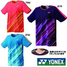 5%OFFクーポン対象◆送料無料◆YONEX◆2019年5月中旬発売◆ウィメンズ ゲームシャツ 20497 テニス バドミントン ウェア ヨネックス