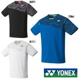 送料無料◆YONEX◆ユニセックス ゲームシャツ(フィットスタイル) 10366 ヨネックス テニス バドミントン ウェア