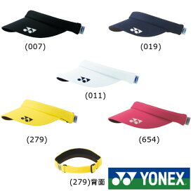 YONEX◆レディース ベリークール サンバイザー 40054 キャップ・バイザー ヨネックス