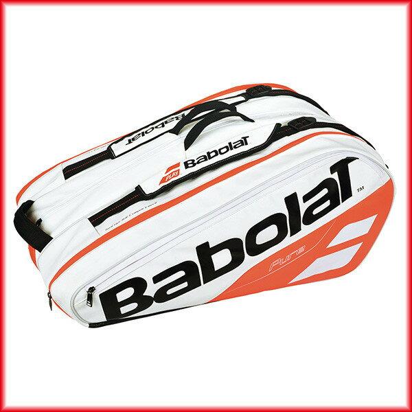 送料無料◆BabolaT◆2018年モデル◆ラケットバッグ(ラケット12本収納可) BB751170 バッグ バボラ