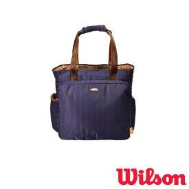 送料無料◆WILSON◆2019年4月発売◆テニスバッグ W BEAR TOTE 11POCKETS NAVY WR8001802001 ウィルソン バッグ