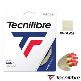 10%OFFクーポン対象◆Tecnifibre◆NRG2 1.32mm TFG212 テクニファイバー 硬式テニス ストリング