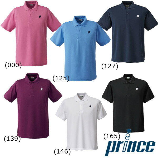 送料無料◆prince◆ユニセックス ゲームシャツ TMU122T プリンス テニス ウェア