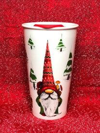 ノーム タンブラー コップ 陶器 クリスマス キッチン