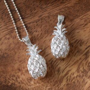 jewelry ハワイ ハワイアン ペンダントフック ネックレス プレゼント ギフト パイナップル 大きめ 富 財 繁栄 シルバー925 ハワイアンジュエリー