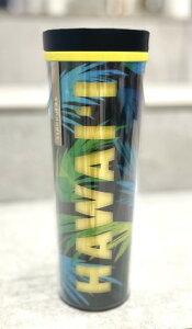 【Starbucks coffee HAWAII】【ハワイ限定】希少 スターバックス コーヒー タンブラー グリーン イエロー 473ml 水筒ボトル リユーサブル スタバ スタバ限定 ハワイ 南国 HAWAII ギフト プレゼント