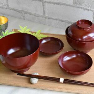 応量器(応量椀) 五つ組 漆塗り 入れ子のお椀セット