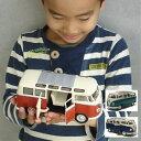 ハワイアン雑貨 ハワイ雑貨 フォルクスワーゲン クラシカルバス1962 ミニ 1/24 ハワイ ハワイアン インテリア VW ミニカー ミニチュア…