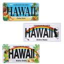 アルミ製 ハワイ ライセンス プレート 看板 サインプレート おしゃれ インテリア ハワイアン雑貨 ハワイアン 雑貨 ハワイ雑貨 ブリキ看…