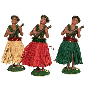 フラ マン ウクレレ フラドール 大きめ ハワイアン 人形 ハワイ 男 ミニチュア ディスプレイ ダッシュボード かっこいい おしゃれ ハワイ雑貨 ハワイアン雑貨 インテリア ハワイアンドール