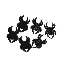 【8日は8%オフのモアナップルデー】ボタン セット 手芸 スパイダー 黒 6個【7466 】ハワイ ハワイアン雑貨 かわいい おしゃれ 男の子 大人 スパイダーマン 蜘蛛 くも ハロウィン 飾りボタン