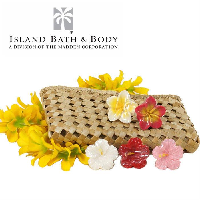 【ポイント10倍】ラブリー フラハンズ リップグロス Island Bath&Body アイランドバス&ボディハワイ 雑貨 ハワイアン雑貨 ハワイアン リップクリーム プルメリア ハイビスカス プレゼント 母の日
