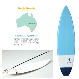 お香立て ミニチュア サーフボード バーナー ベルズビーチ 水色 白 スティック インセンス お香 立て たて オーストラリア ハワイ雑貨 ハワイアン雑貨 インテリア 置物 ショートボード サーフィン サーフ おしゃれ 模型 西海岸
