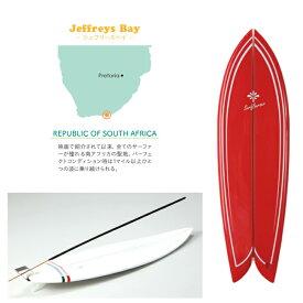 お香立て ミニチュア サーフボード バーナー ジェフリーズベイ 赤 スティック インセンス お香 立て たて ハワイ雑貨 ハワイアン雑貨 インテリア 置物 レトロフィッシュ サーフィン サーフ おしゃれ 西海岸 カリフォルニア 模型
