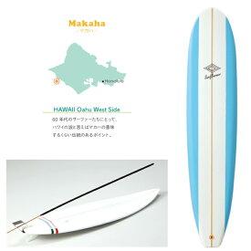 お香立て ミニチュアサーフボード サーフボード バーナー マカハ 水色 白 スティック インセンス お香 立て たて ハワイ雑貨 ハワイアン雑貨 インテリア 置物 ロングボード サーフィン サーフ おしゃれ 西海岸 カリフォルニア 模型