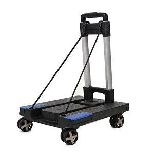 カート 折りたたみ キャリーカート 台車 軽量 運搬 荷物の持ち運びに便利 防災用品 避難 4輪360度 回転 耐荷重80kg