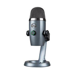 Blue Microphones(ブルー マイクロフォン) Yeti Nano USB コンデンサー マイク PCマイク USBマイク Shadow Gray イエティ ナノ シャ