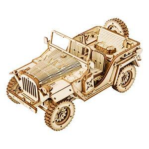 Robotime 3D立体パズル 木製パズル 木製 レーザーカット ギア ミニチュア オモチャ 知育玩具 男の子 女の子 大人 入園祝い 新年 ギフ