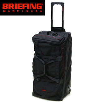 Briefing /BRIEFING Boston carrier bag carry case trolley case suitcase business travel D-1 RED LINE( red line)