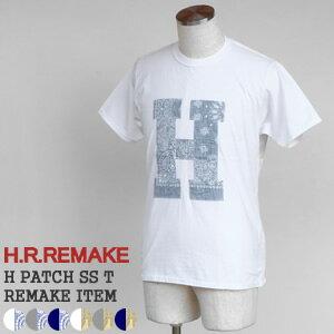 【クーポンで20%OFF】HRリメイク/H.R.REMAKE Hパッチ半袖Tシャツ リメイクTシャツ H PATCH SS T 700063979 ハリウッドランチマーケット/HOLLYWOOD RANCH MARKET【コンビニ受取可能】【1点のみメール便可能】