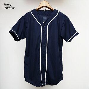 メッシュベースボールシャツ無地AUGUSTASPORTSWEAR593
