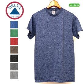無地Tシャツ 霜降り 丸胴【DELTA APPAREL】Pro Weightシリーズ melange color