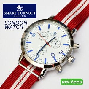 クロノグラフ機能付きSMARTTURNOUT'LONDON'WATCHスマートターンアウトクロノグラフ腕時計