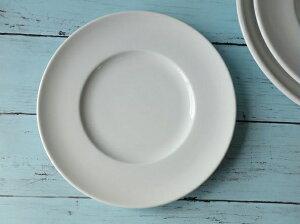 洋食器 スパチオーレ21cmティラミスケーキプレート 中皿リム 白い食器 業務用ケーキ皿 おしゃれ 激安ケーキ皿 陶器 白 インスタ映え