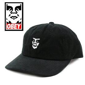 オベイ キャップ OBEY FUBAR (ブラック/ダッドハット/フリーサイズ/メンズ/レディース/帽子)