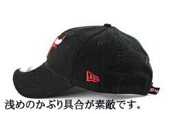 NEWERA(ニューエラ)MLBBLACKスナップバックキャップ