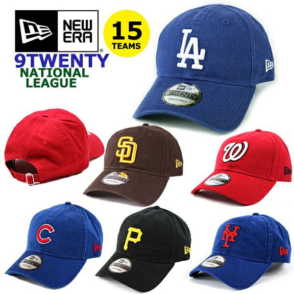 ニューエラ NEW ERA ローキャップ MLB ナショナルリーグ 9TWENTY (ドジャース/メッツ/カブス/ジャイアンツ/カージナルス/マーリンズ/キャップ/帽子/ゴルフ)
