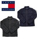 トミー ヒルフィガー ジャケット 中綿 ナイロンキルト パッカブル ジャケット TOMMY HILFIGER (ブラック/ネイビー/グ…