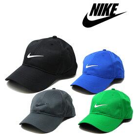 ナイキ キャップ NIKE Swoosh Dri-FIT (ブラック/ホワイト/グレー/ブルー/グリーン/メンズ/レディース/ゴルフ/テニス/ランニング/帽子/フリーサイズ/ストラップバックキャップ)