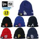 ニューエラ ニット帽 ニットキャップ MLB ナショナルリーグ NEW ERA (ドジャース/ジャイアンツ/パドレス/ロッキーズ/…