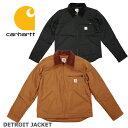 カーハート デトロイト ジャケット CARHARTT DUCK DETROIT JACKET (ブラック/ブラウン/メンズ/ダック/アウター/ブルゾ…