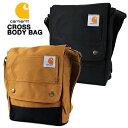 カーハート ボディバッグ CARHARTT LEGACY CROSS BODY BAG 送料無料 (ブラック/ブラウン/サコッシュ/鞄/バッグ/カバン)