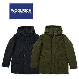 ウールリッチ ゴアテックス マウンテンパーカー ダウンジャケット WOOLRICH GORETEX GTX MOUNTAIN JKT (ブラック/グリーン/防水/マウンテンジャケット/送料無料)